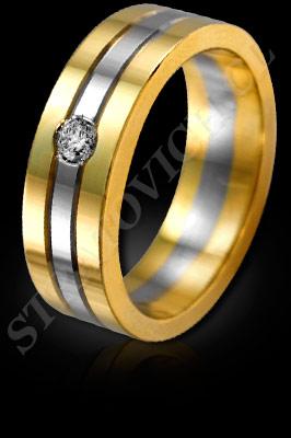 ANILLO para MUJER de oro amarillo de 18 kilates, oro blanco o platino con brillantes  (El modelo: AF0089). Santiago, Chile, Ñuñoa